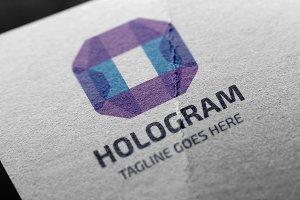 Hologram (Letter H) Logo