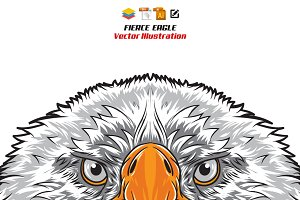 Fierce Eagle Head
