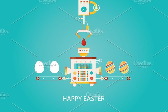 Happy Easter Factory