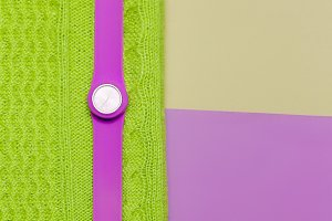 wrist watch. Fashion. Minimal design
