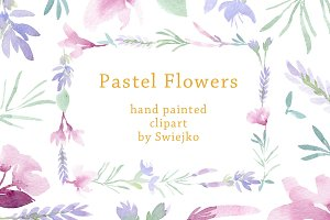 Pastel Floral Set