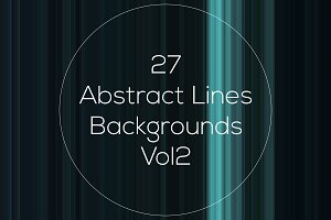 Abstract Lines Backgrounds Vol2