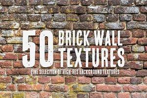50 Brick Wall Textures