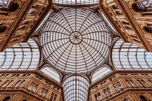 Galleria Umberto I in Rome