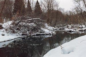 Winter Brook | 35mm film scan