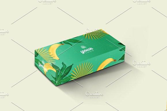 Rectangle Box Mockup