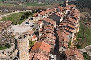 Frias medieval village in Burgos