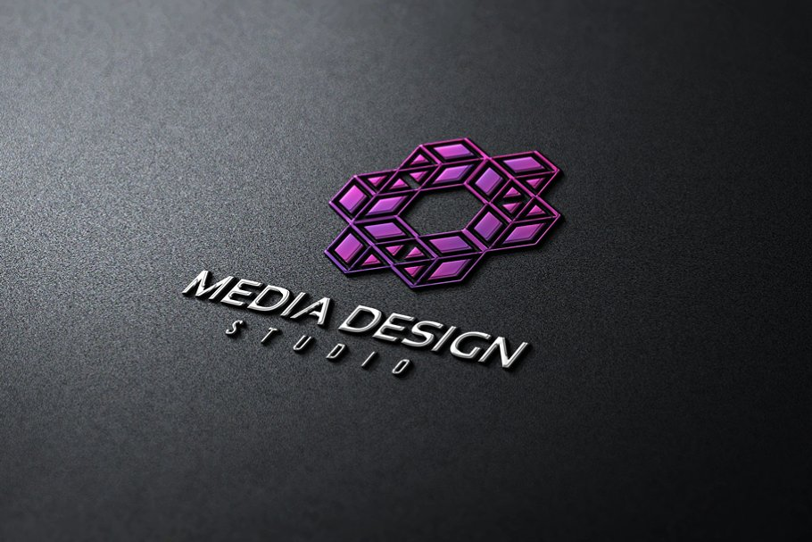 Media Design in Logo Templates - product preview 8