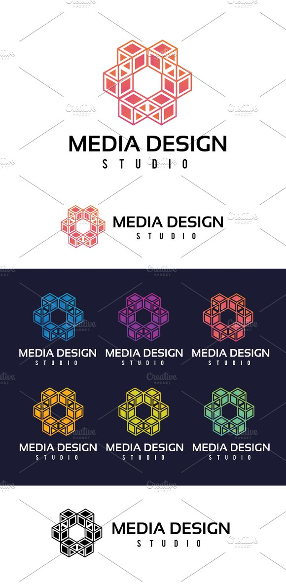 Media Design in Logo Templates - product preview 2