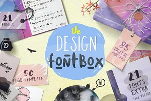 The Design FontBox (94% Off )