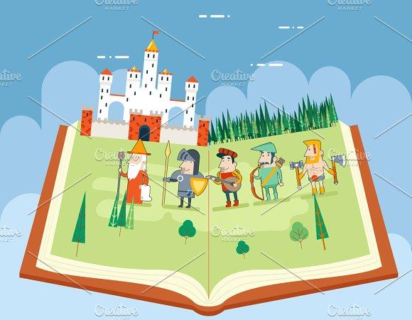 Fairy Tales History Books