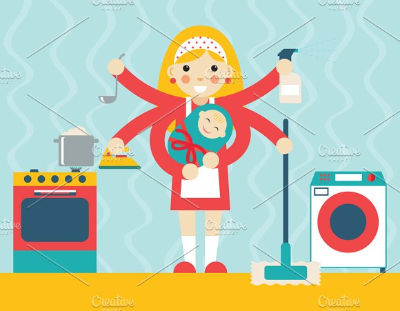 Housewife Symbol