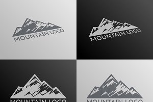 Mountain Logo Symbol