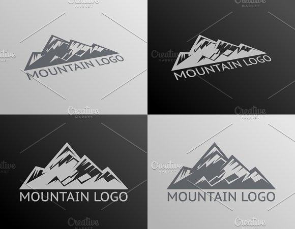 Mountain Logo Symbol