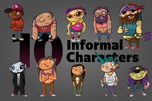 10 Informal Characters