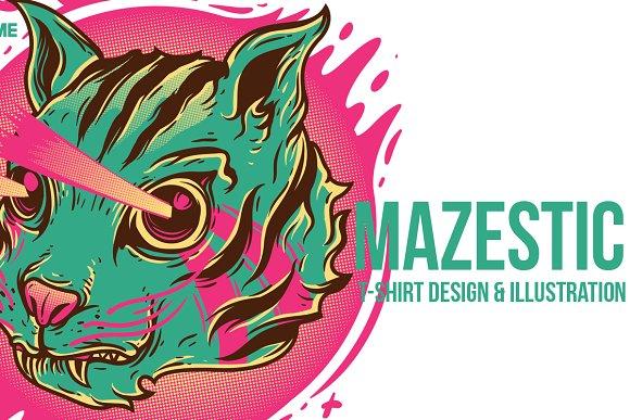 Mazestic Illustration