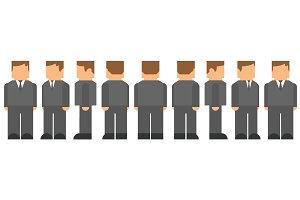 Business Man Character Turnaround