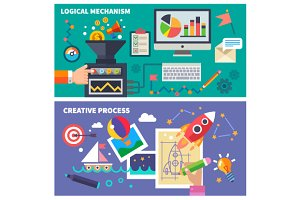 Logical and creative process