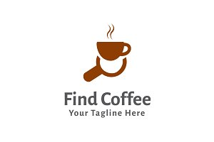 Find Coffee Logo Template