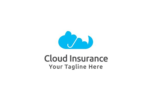 Cloud Insurance Logo Template
