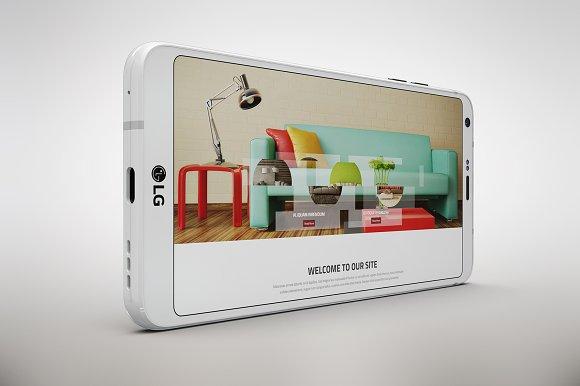 LG G6 App Skin MockUp