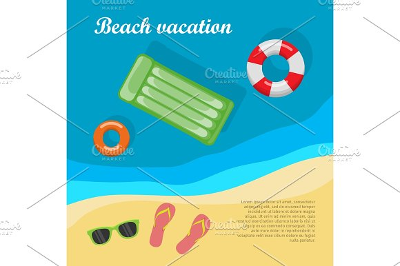 Summertime And Beach Vacation Posters