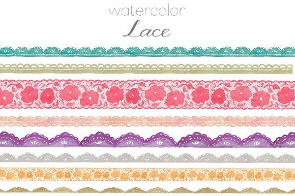 Clip Art Lace Clip Art watercolor lace clip art illustrations on creative market illustrations