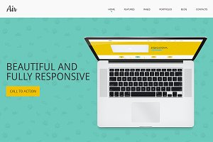 Air Responsive Bootstrap Template