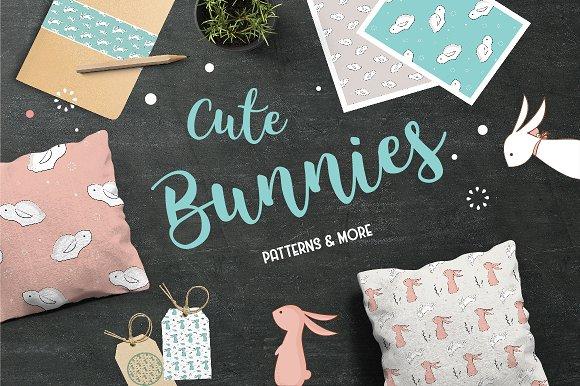 Cute Bunies PATTERNS MORE