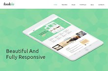 Look In Bootstrap  Responsive Theme