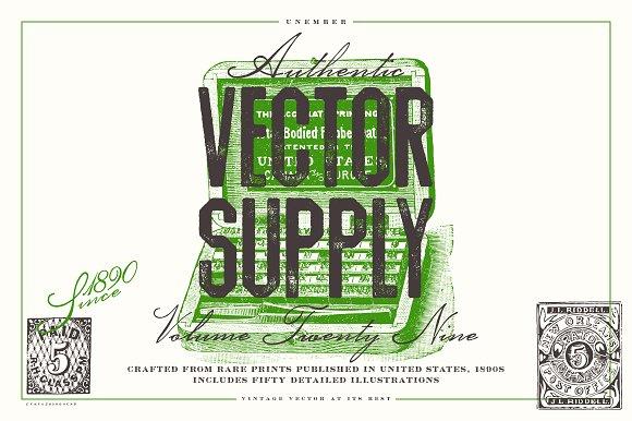 Unember Vector Supply Volume 29