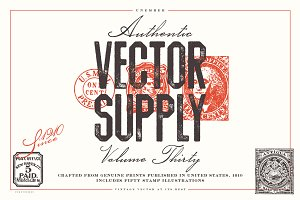 Unember Vector Supply Volume 30