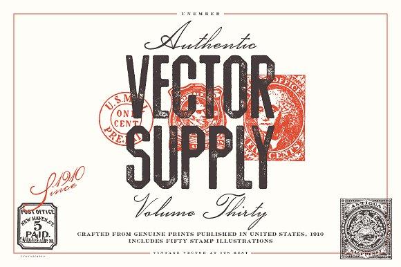 Unember Vector Supply Volume 30