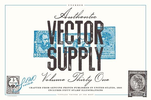 Unember Vector Supply Volume 31