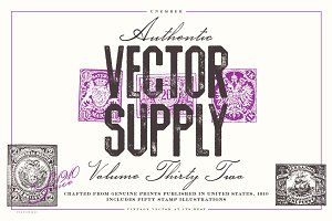 Unember Vector Supply Volume 32