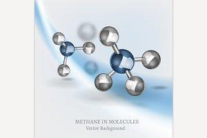 Methane Molecule Image