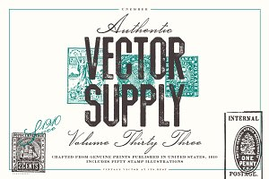 Unember Vector Supply Volume 33