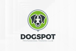 Dog Spot Logo Template
