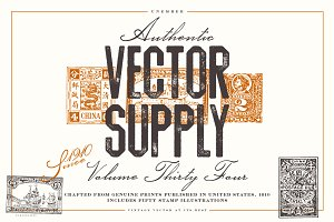 Unember Vector Supply Volume 34