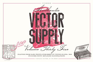 Unember Vector Supply Volume 35