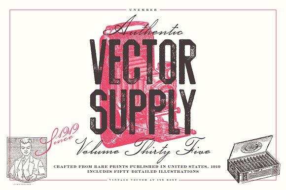 Unember Vector Supply Volume 35