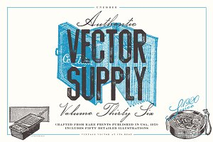 Unember Vector Supply Volume 36