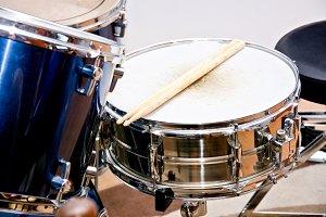 Snare drum. Music concept.