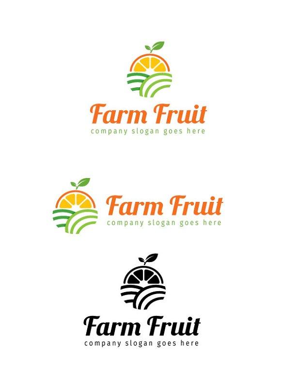 Farm Fruit Logo