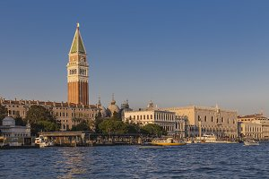 Doge's Palace and bell tower