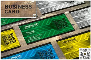 Metal Modern Business Card
