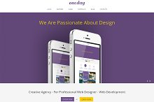 Oneday Responsive Bootstrap Template