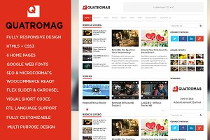QuatroMag - WordPress Blog/Magazine