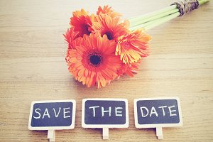 Save the date written on blackboard