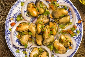 Galician mussels